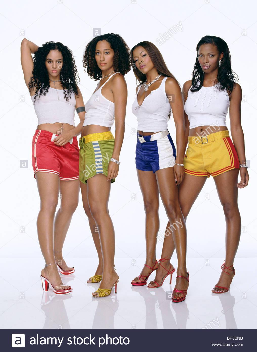 PERSIA WHITE, TRACEE ELLIS ROSS, JILL MARIE JONES, GOLDEN BROOKS, GIRLFRIENDS : SEASON 3, 2002 Stock Photo