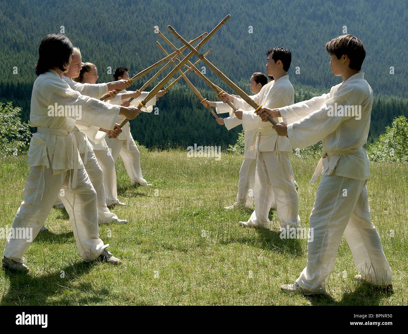 MARTIAL ARTS STUDENTS ELEKTRA (2005) - Stock Image