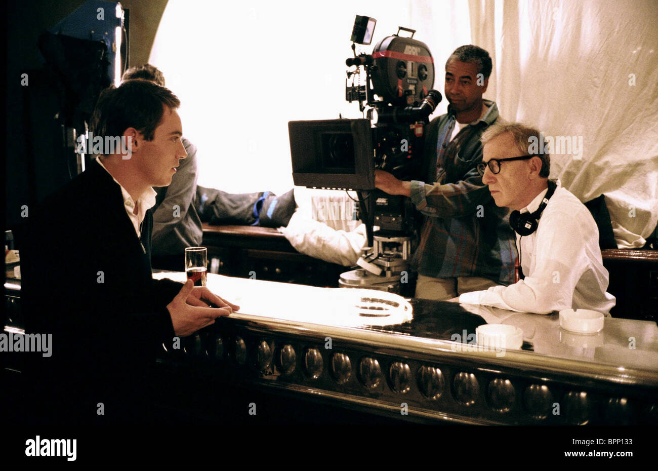 JONATHAN RHYS MEYERS, WOODY ALLEN, MATCH POINT, 2005 Stock Photo