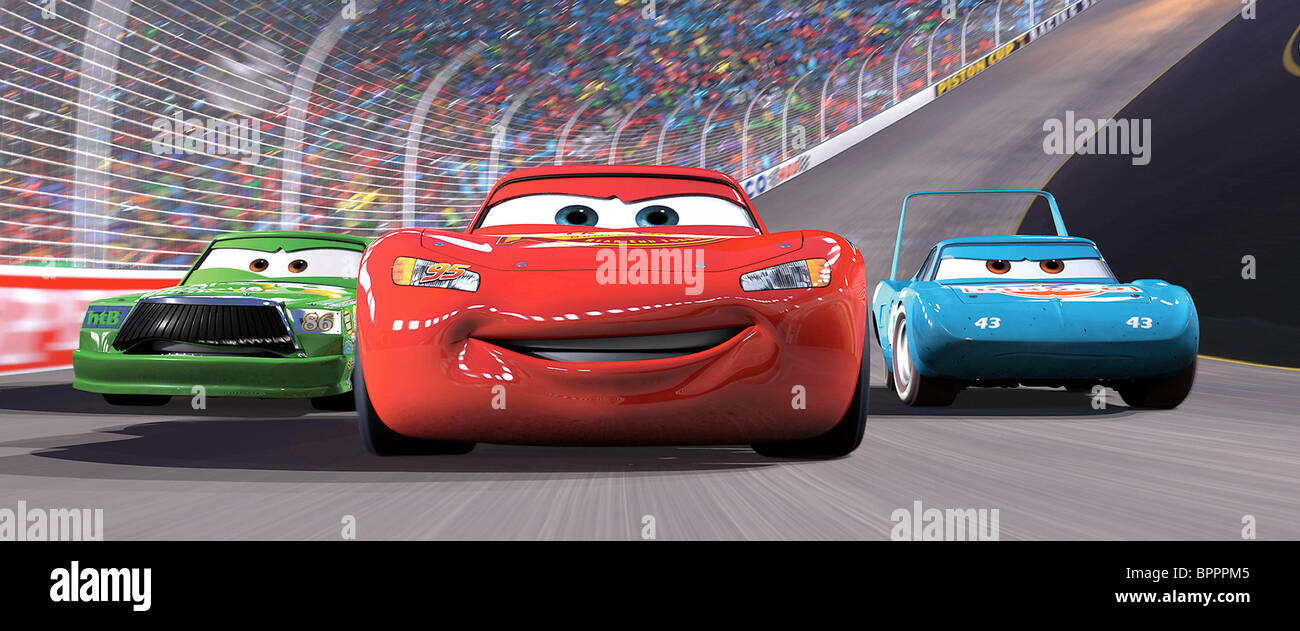 Cars  Movie Lightning Mcqueen And Mater Flying