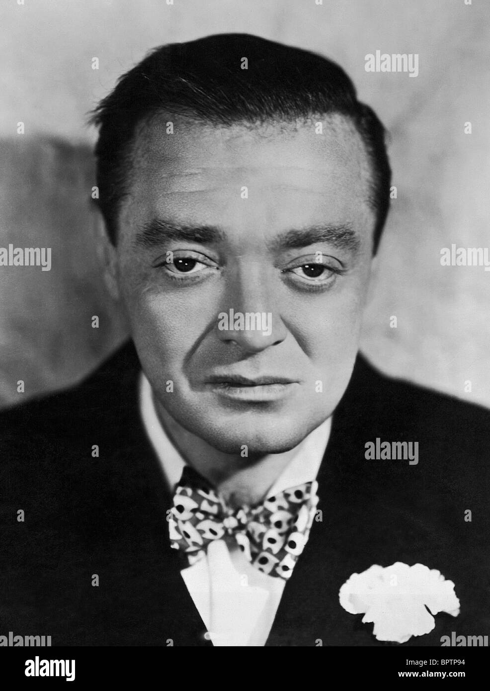PETER LORRE ACTOR (1940) - Stock Image