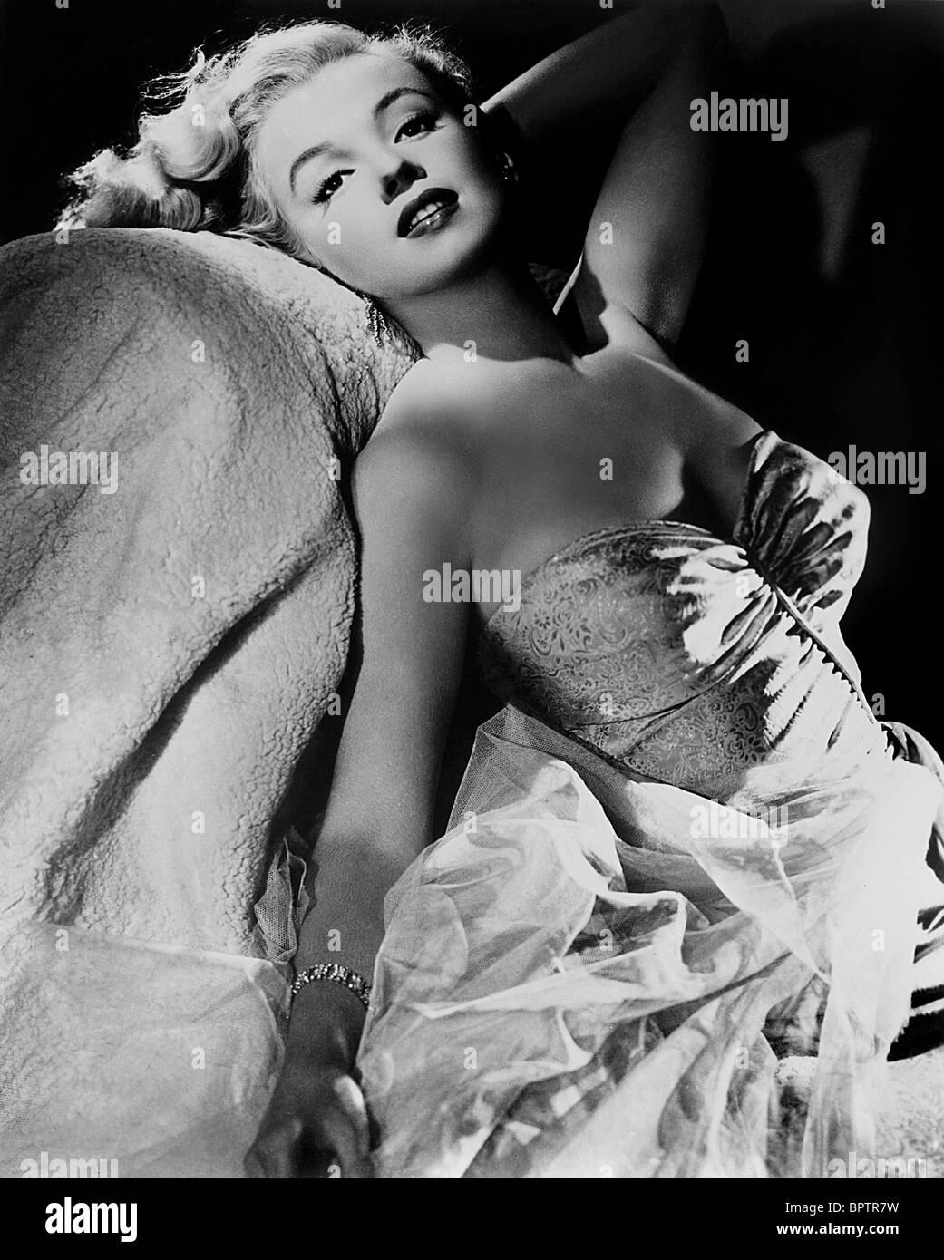 MARILYN MONROE ACTRESS (1953) - Stock Image