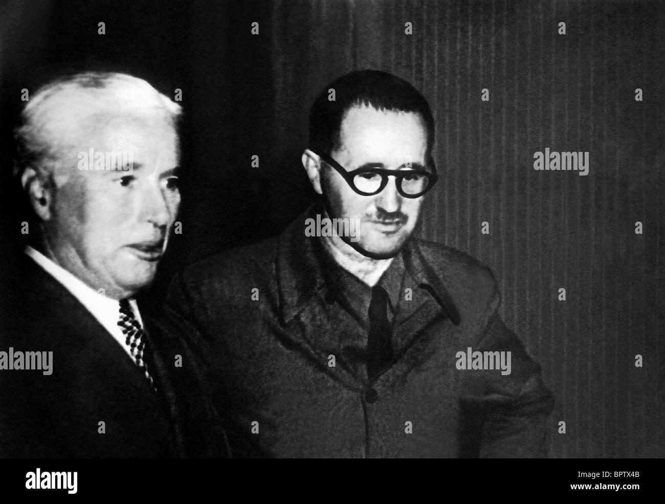 CHARLIE CHAPLIN & BERTOLT BRECHT ACTOR & WRITER LEBEN DES GALILEI