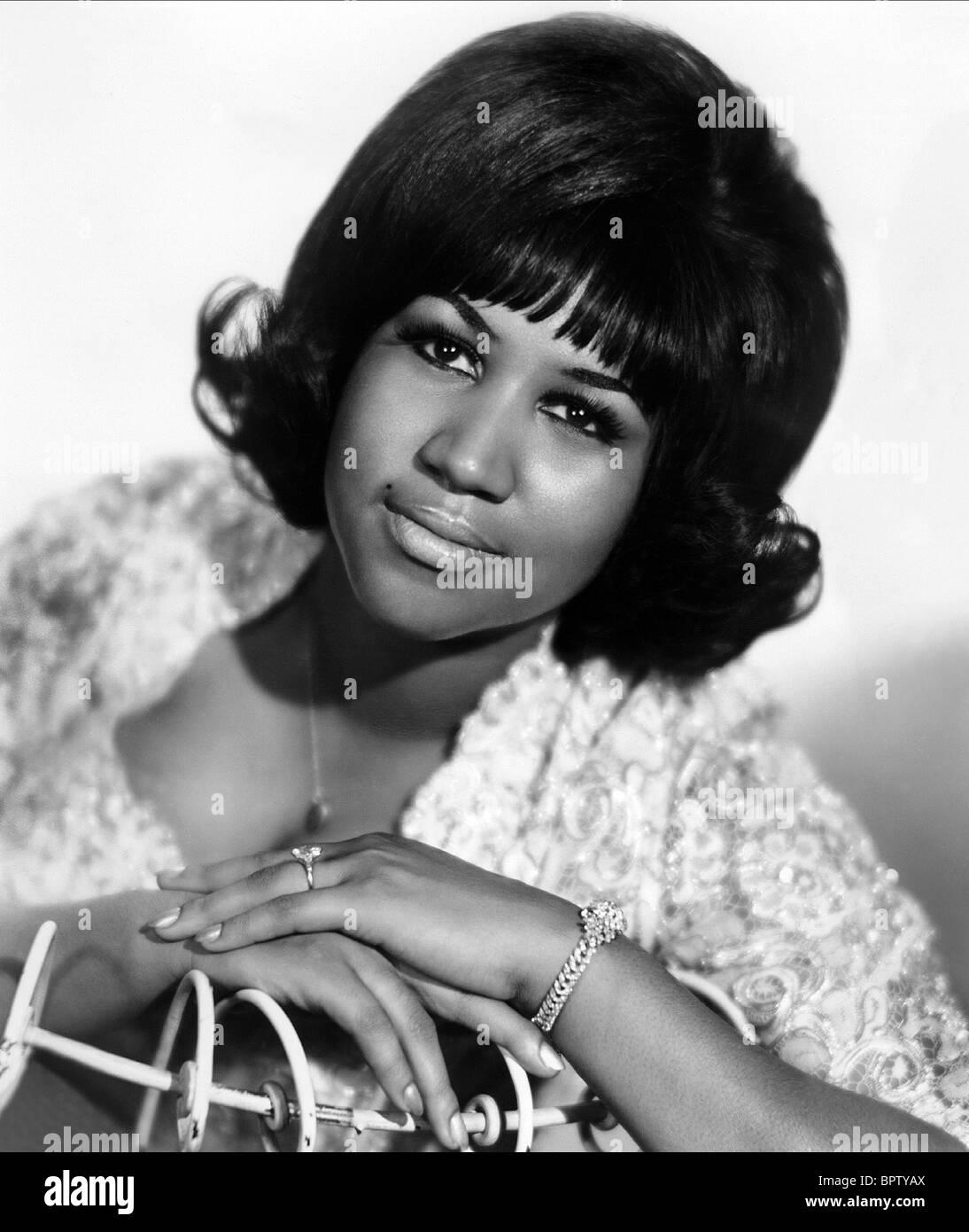 ARETHA FRANKLIN MUSICIAN (1967) Stock Photo