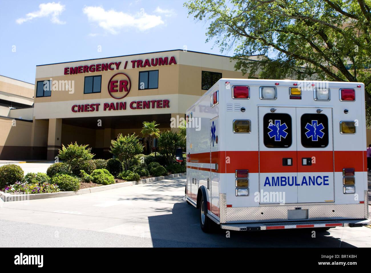 Oklahoma University Hospital Emergency Room