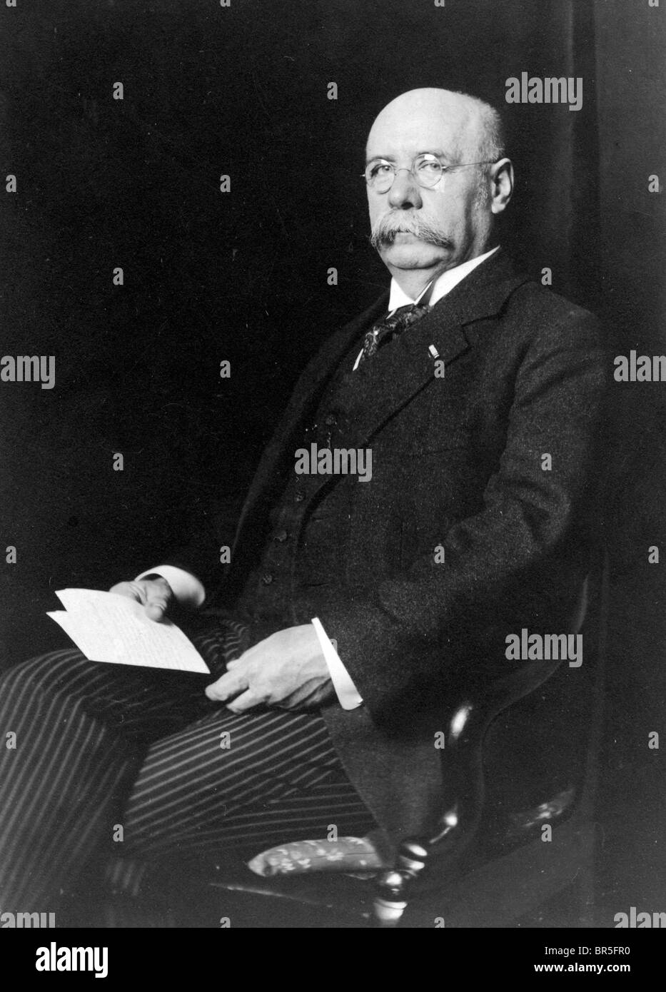 Historic photograph, old, honourable gentleman, around 1912 - Stock Image