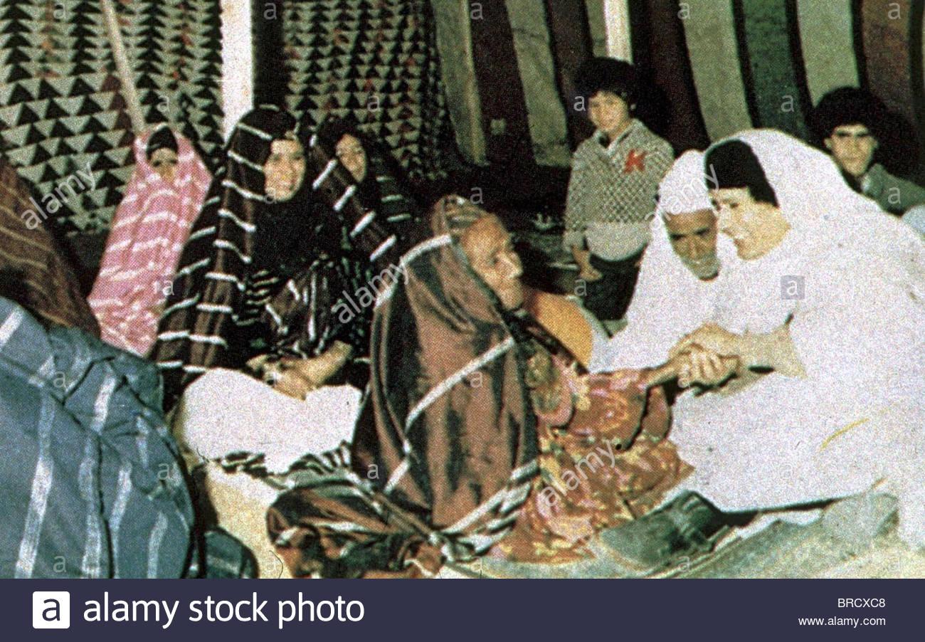 MOAMMAR GADHAFI - Stock Image