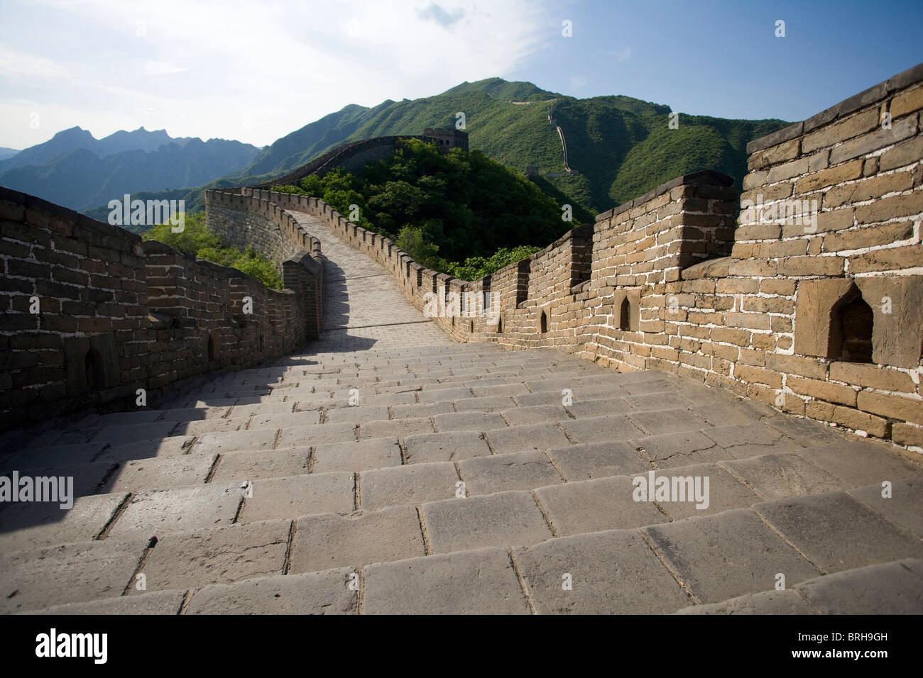 The Great Wall of China, Mutianyu - Stock Image
