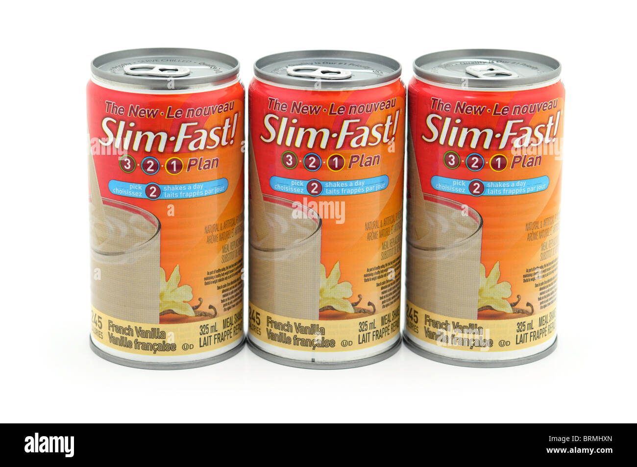 Slimming Drinks, Weight loss plan, meal replacement Stock Photo