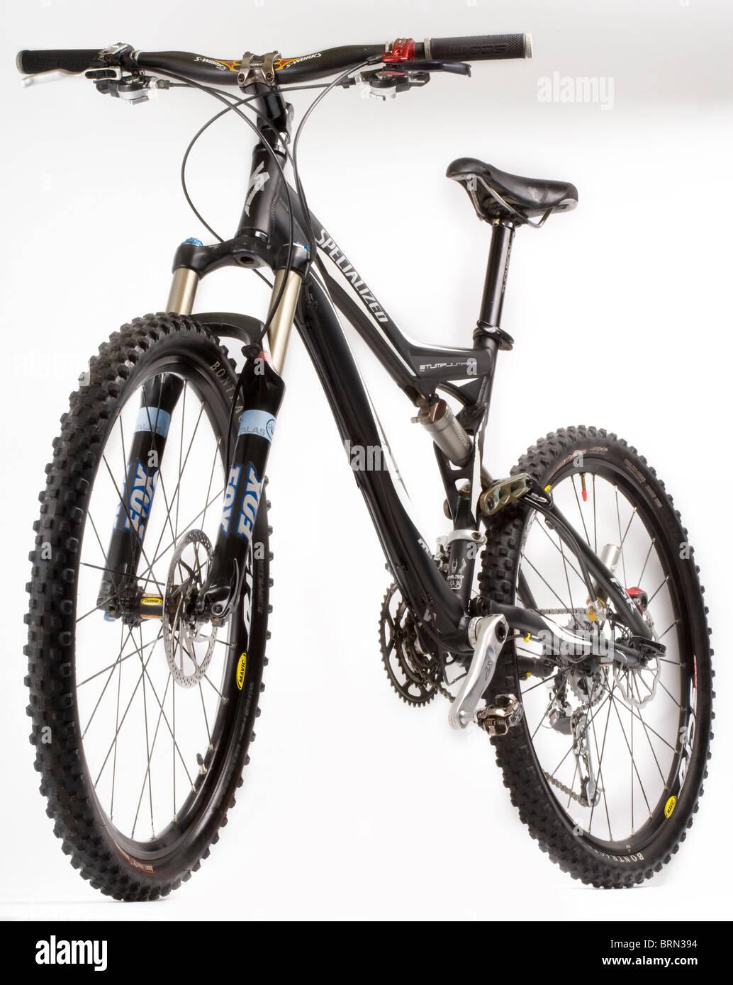 Dual Suspension Mountain Bike >> Dual Suspension Mountain Bike Stock Photo 31811056 Alamy