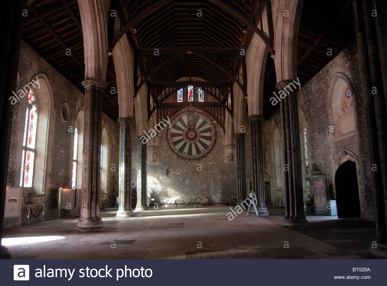 Winchester uk stock photos winchester uk stock images alamy - Winchester cathedral round table ...