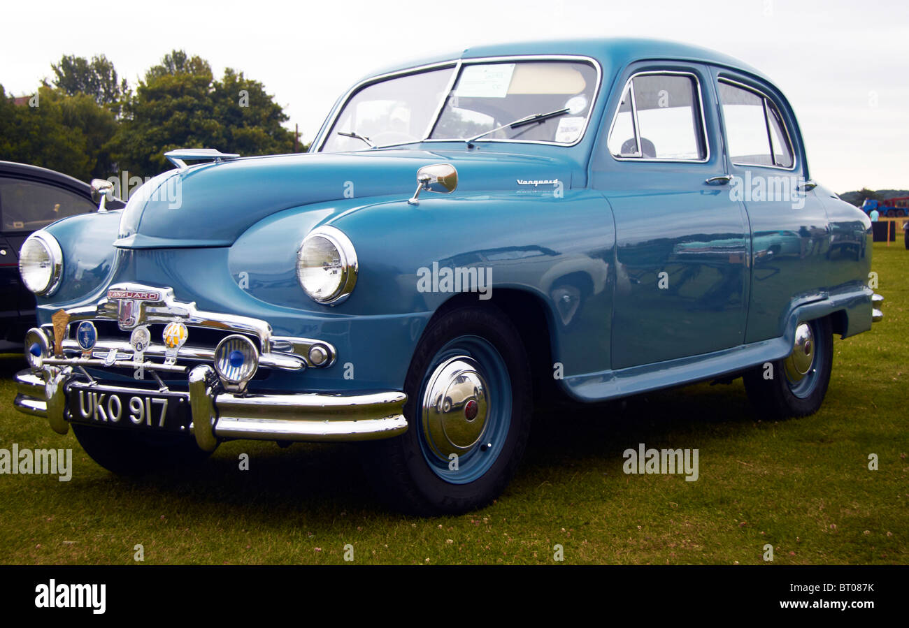 English Standard Vanguard Car from the 1950\'s, Wings and Wheels Show ...