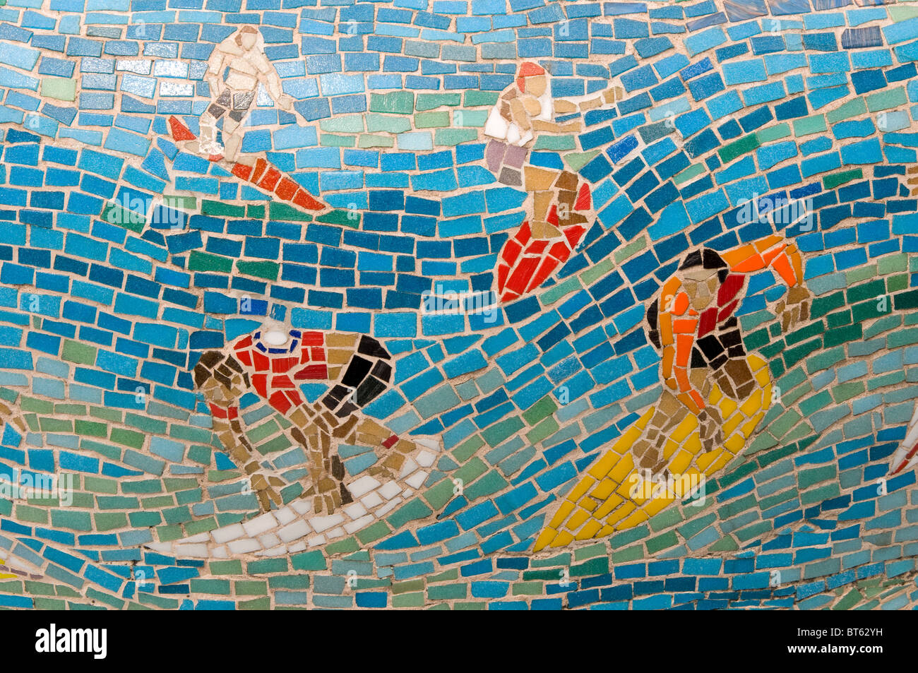 Mosaic surfer tile ceramic art wave stand up stood australia mosaic surfer tile ceramic art wave stand up stood australia southern hemisphere aussie bondi beach south east australasia new s dailygadgetfo Images
