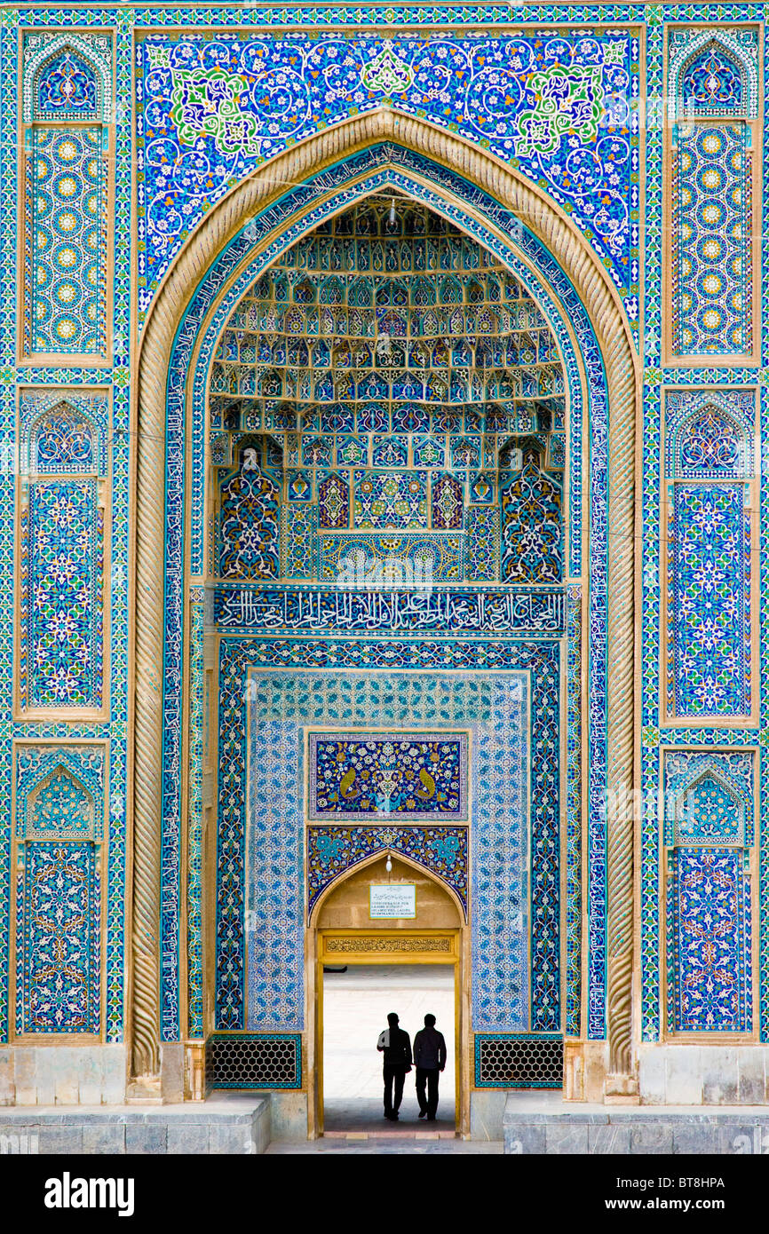 Friday Mosque or Jame Masjid in Kerman, Iran - Stock Image