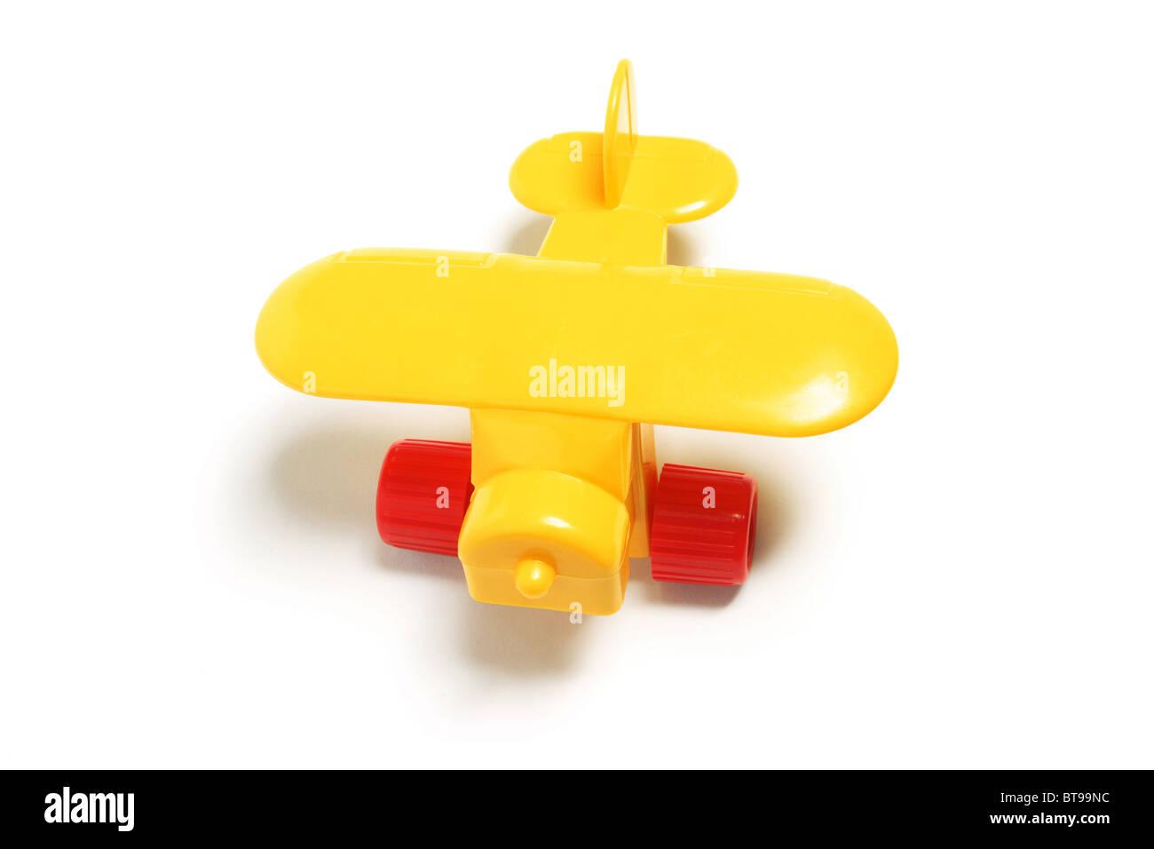 Plastic Toy Plane - Stock Image