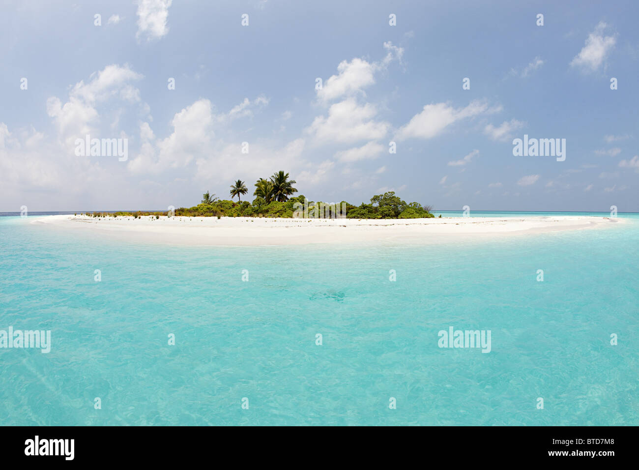 Mathidhoo Island, North Huvadhu Atoll, Maldives - Stock Image