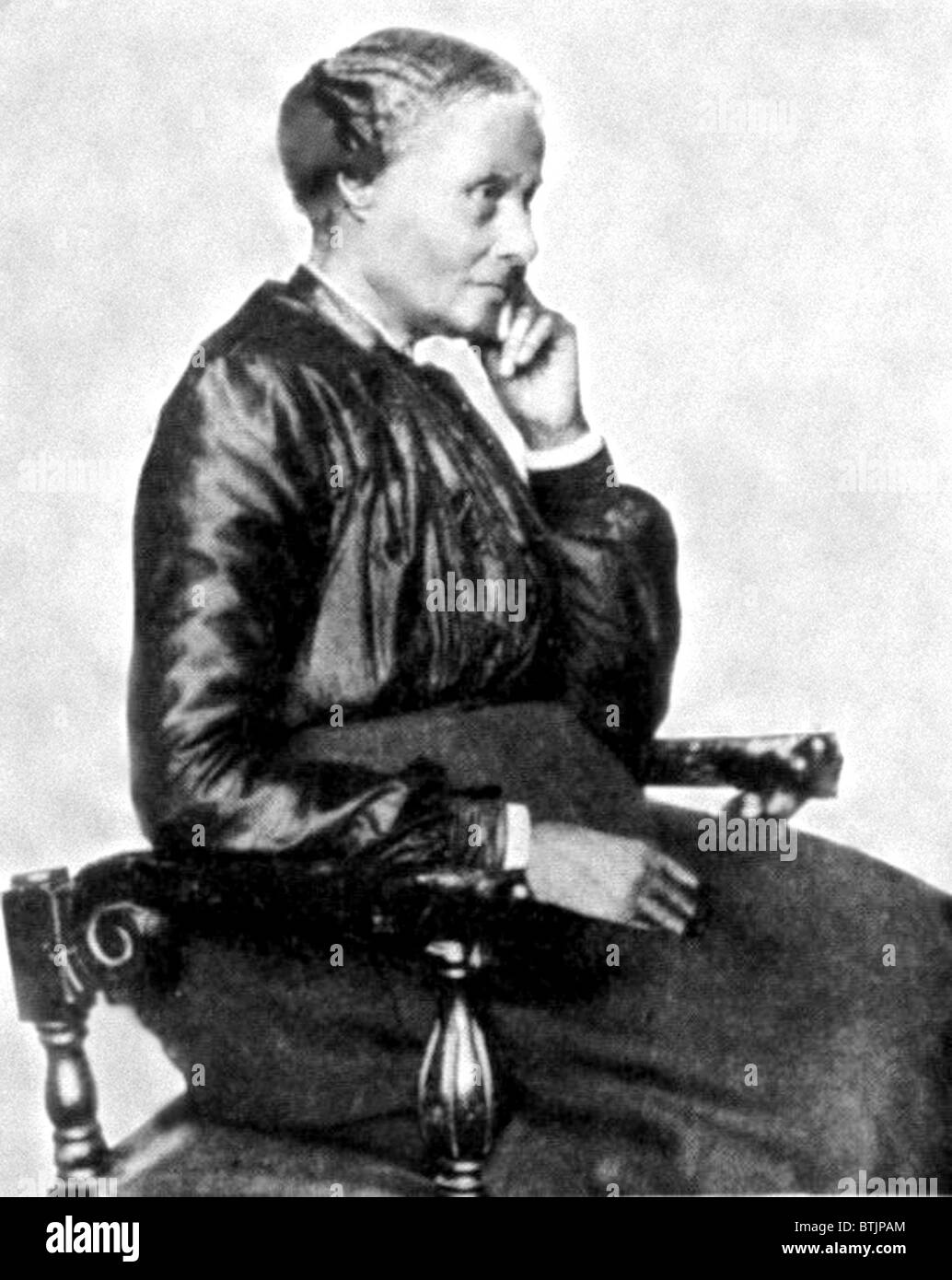 Mary Ellen Pleasant, early African American businesswoman, c. 1860's Stock Photo
