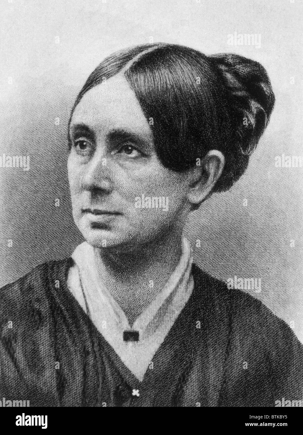 Dorothea Dix (1802-1887) Stock Photo