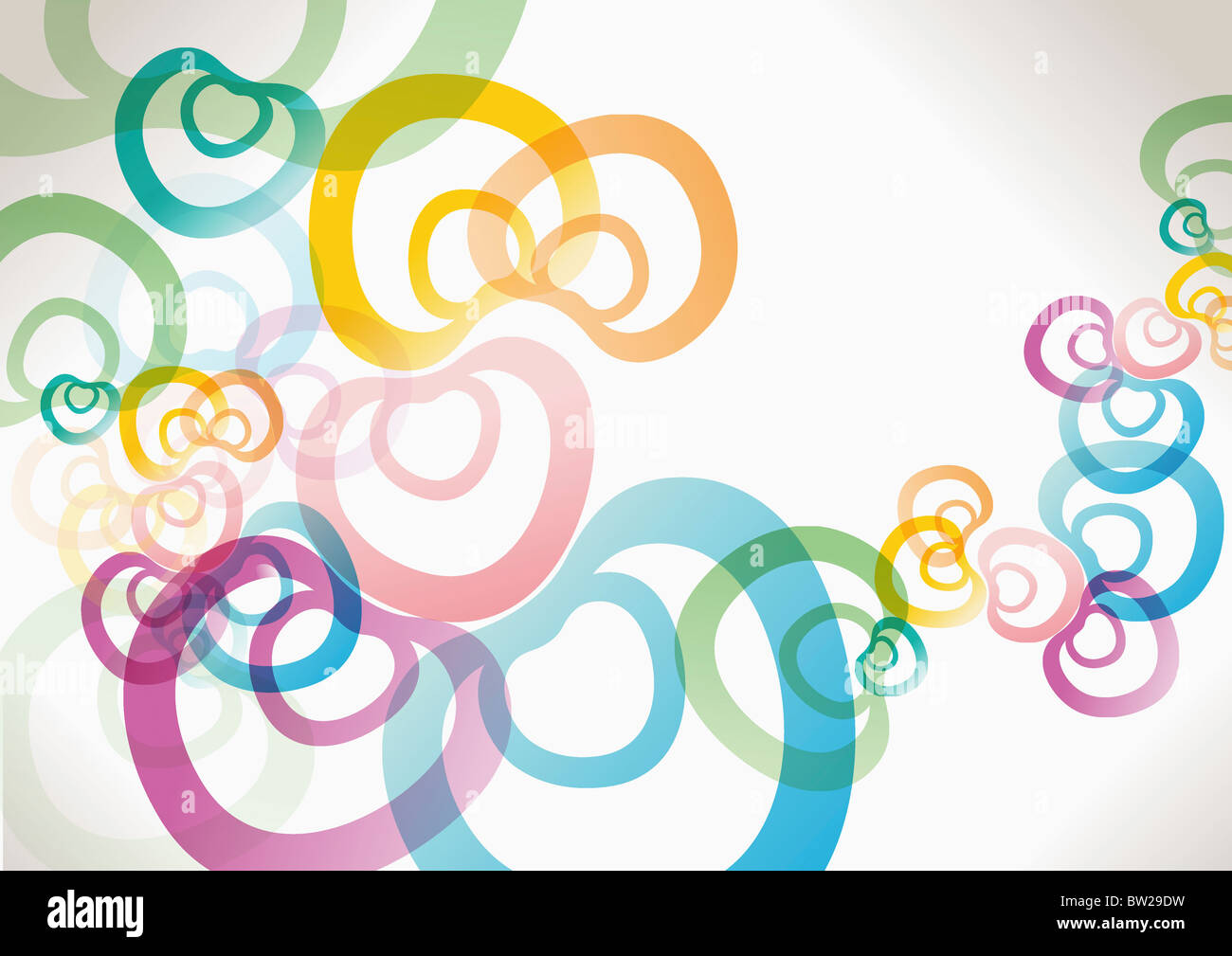 colorful pattern - Stock Image