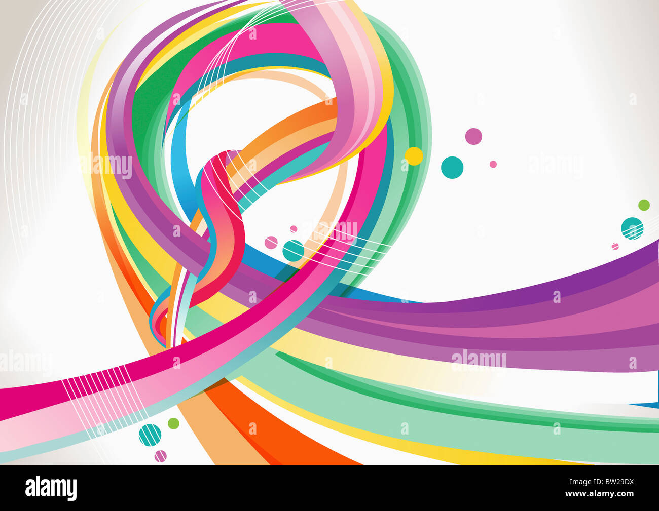 colorful textured pattern - Stock Image