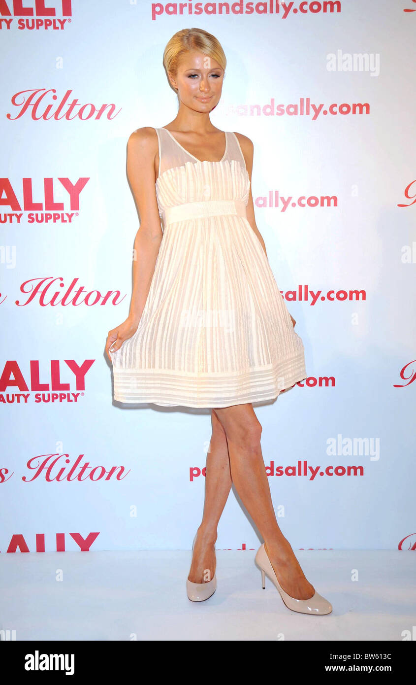 Paris Hilton Hair Extension Launch For Sally Beauty Supply Stock