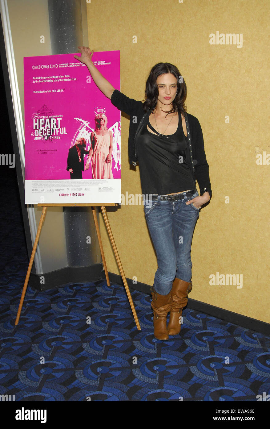 THE HEART IS DECEITFUL ABOVE ALL THINGS Premiere - Stock Image
