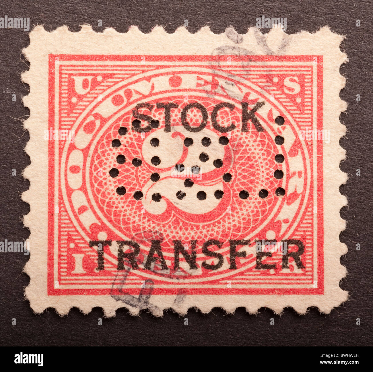 United States Inland Revenue Stamp 2 Cents