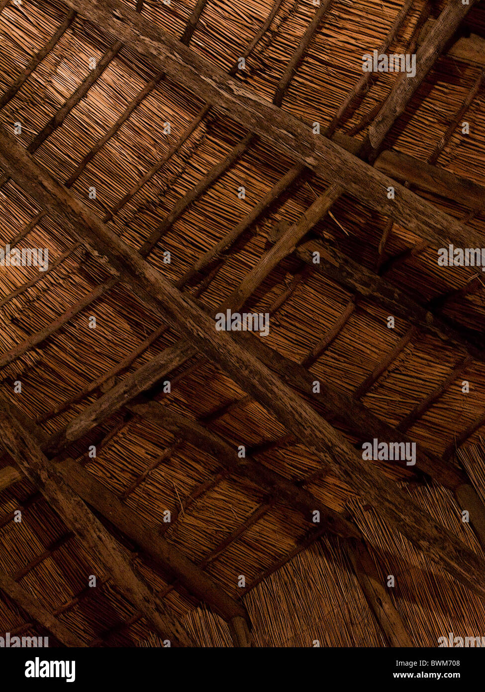 Inside Of Thatch Roof Stock Photos Amp Inside Of Thatch Roof