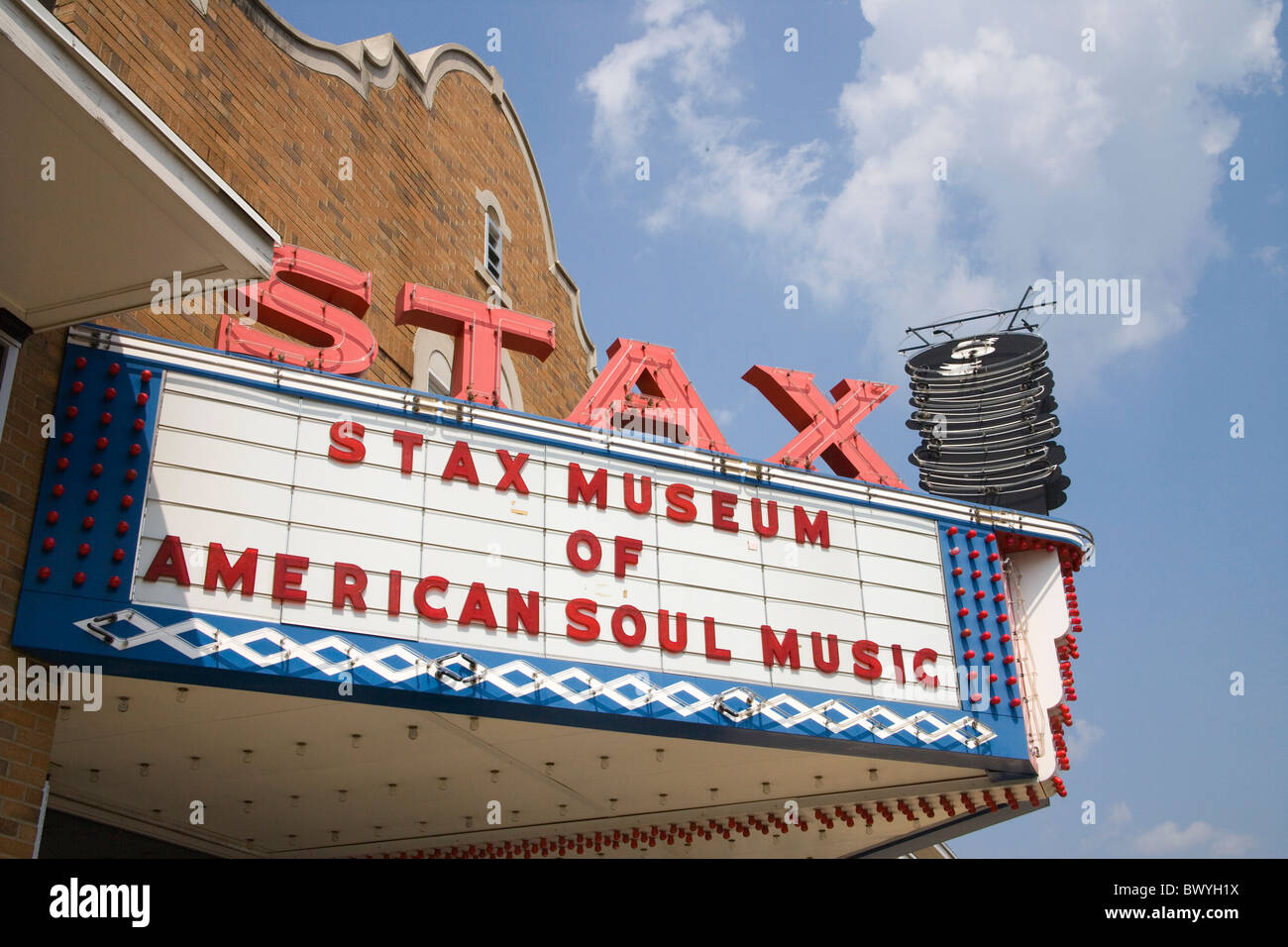stax records memphis tennessee Stock Photo