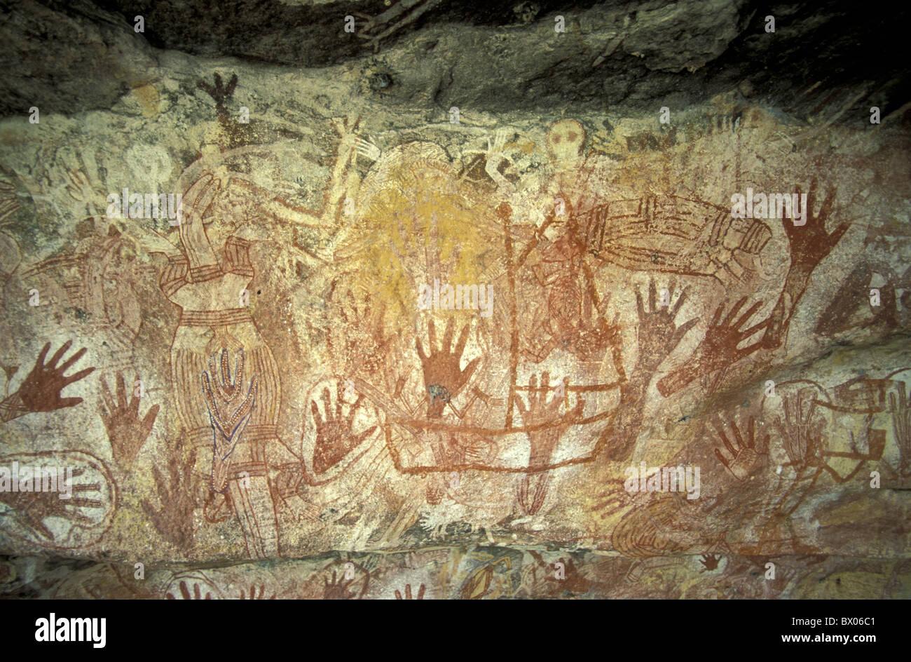 Funky Aboriginal Wall Art Pattern - Wall Art Collections ...