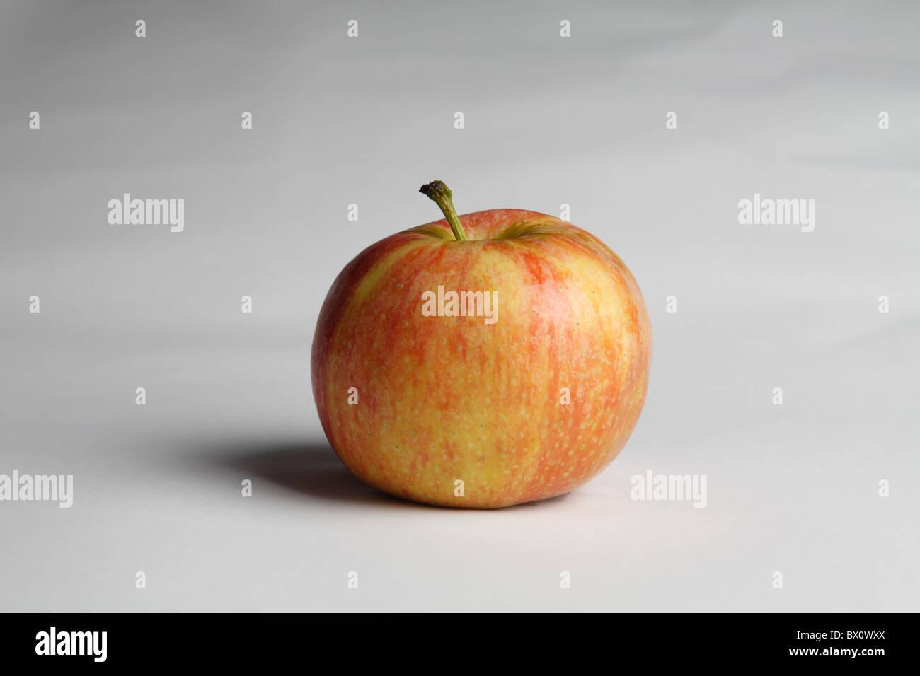 fruit, apple, isolate, manzana acid skin sante - Stock Image