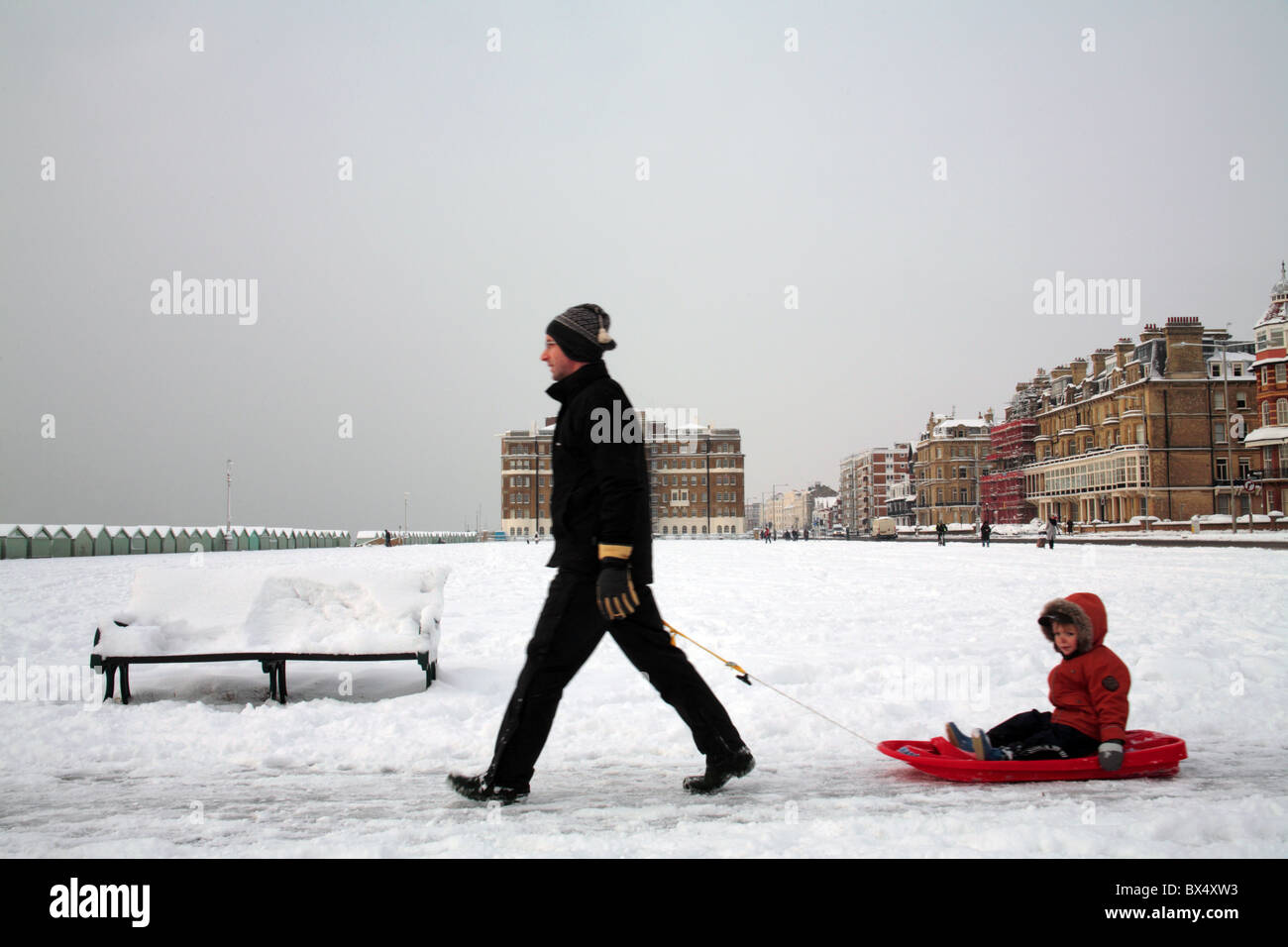 man and son - Stock Image