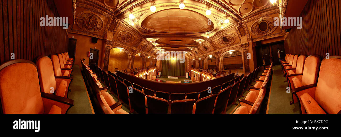 Lucerna palace, cinema - Stock Image