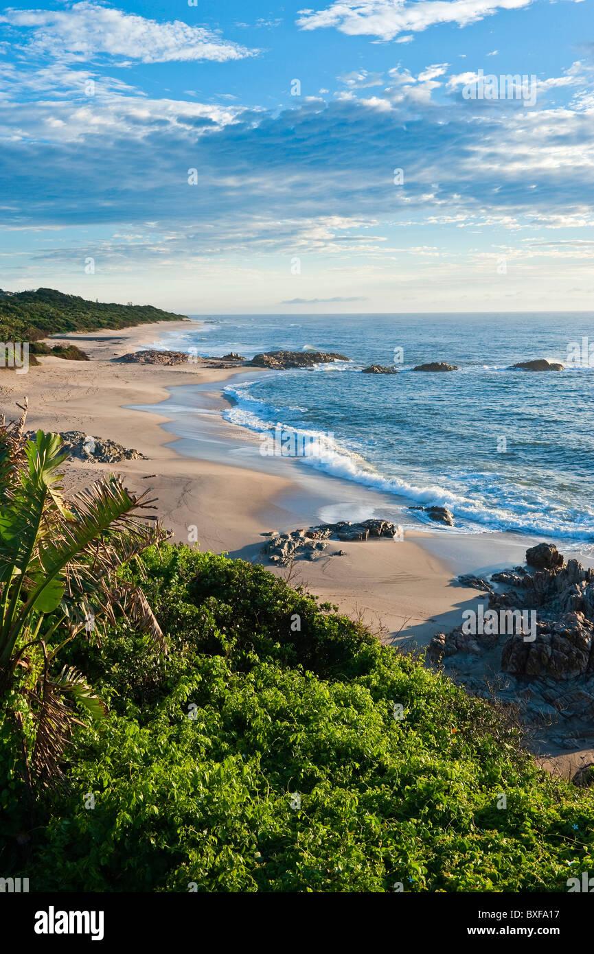 Coastal scene at Southbroom. KwaZulu Natal South Coast. South Africa. - Stock Image