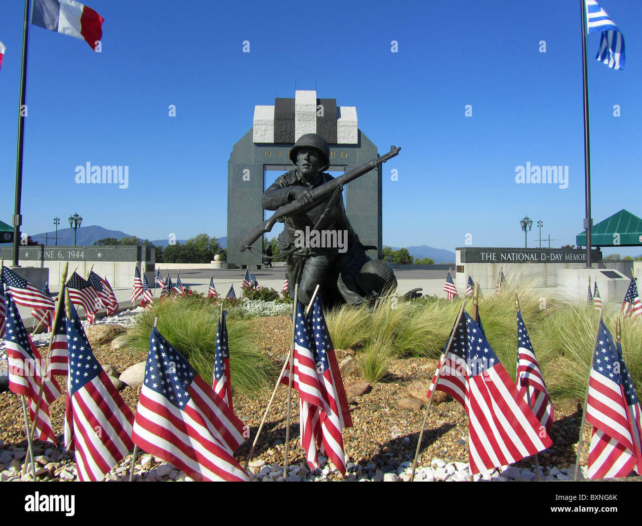 National D-Day memorial, Bedford, Virginia. USA, Stock Photo