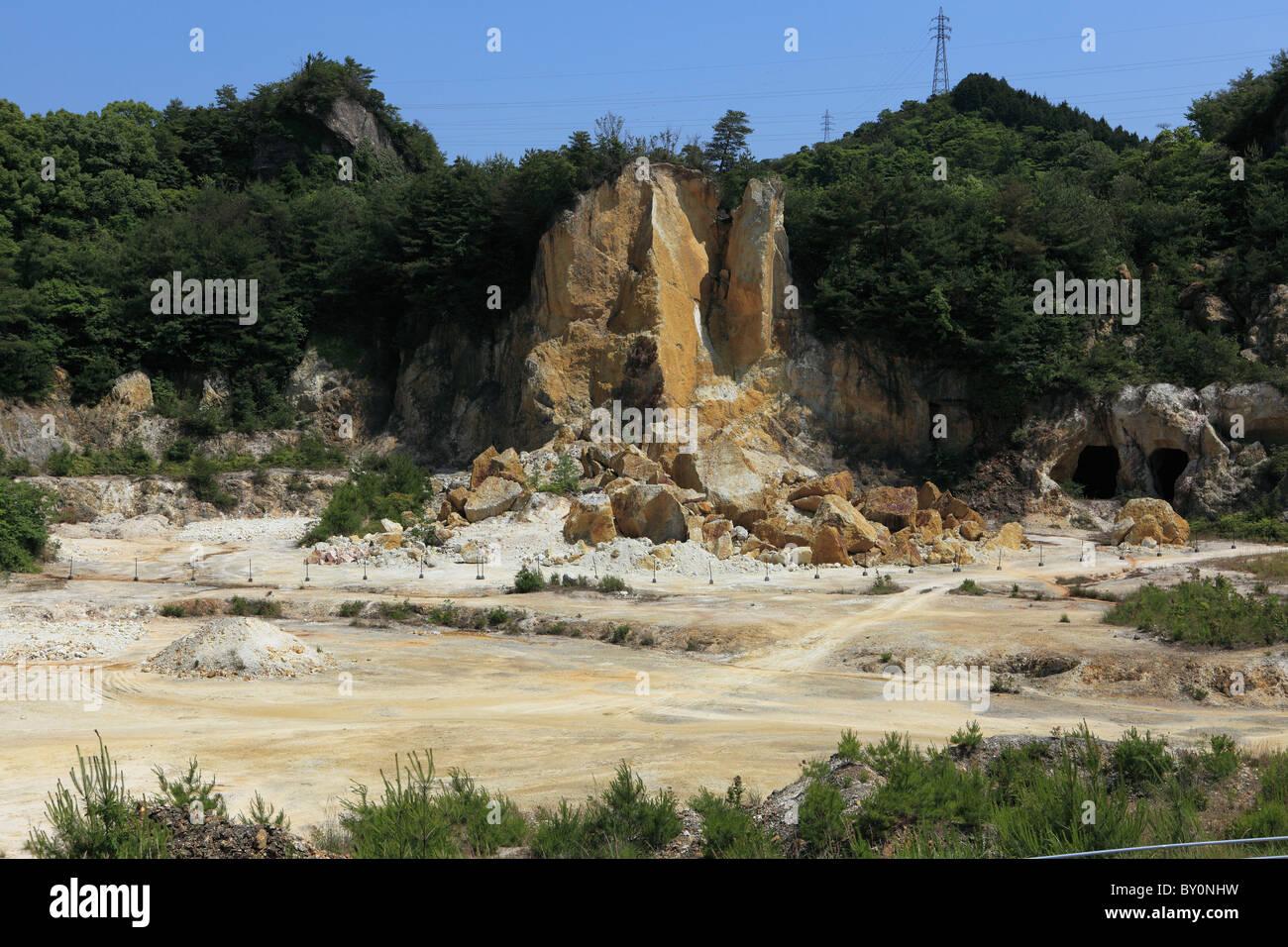 Izumiyama Quarry, Arita, Saga, Japan - Stock Image
