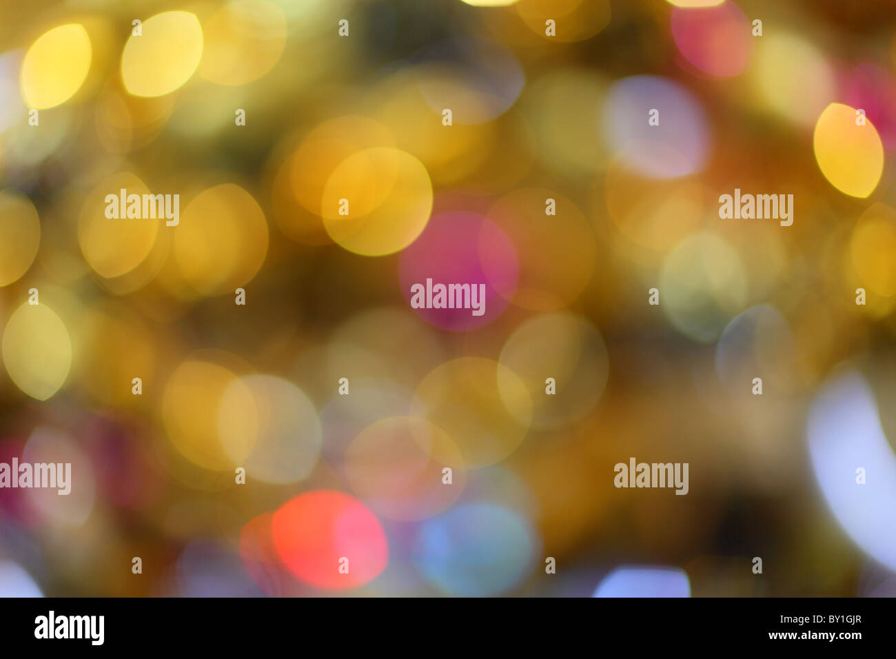 Abstract colorful defocus background - Stock Image