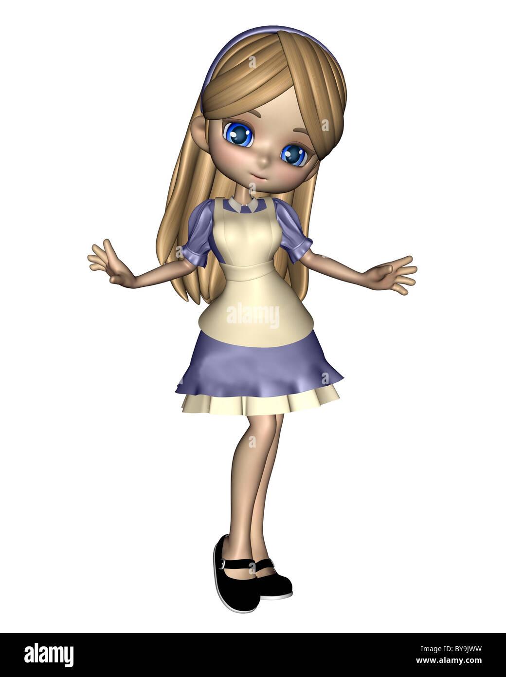 Alice in Wonderland - 2 - Stock Image