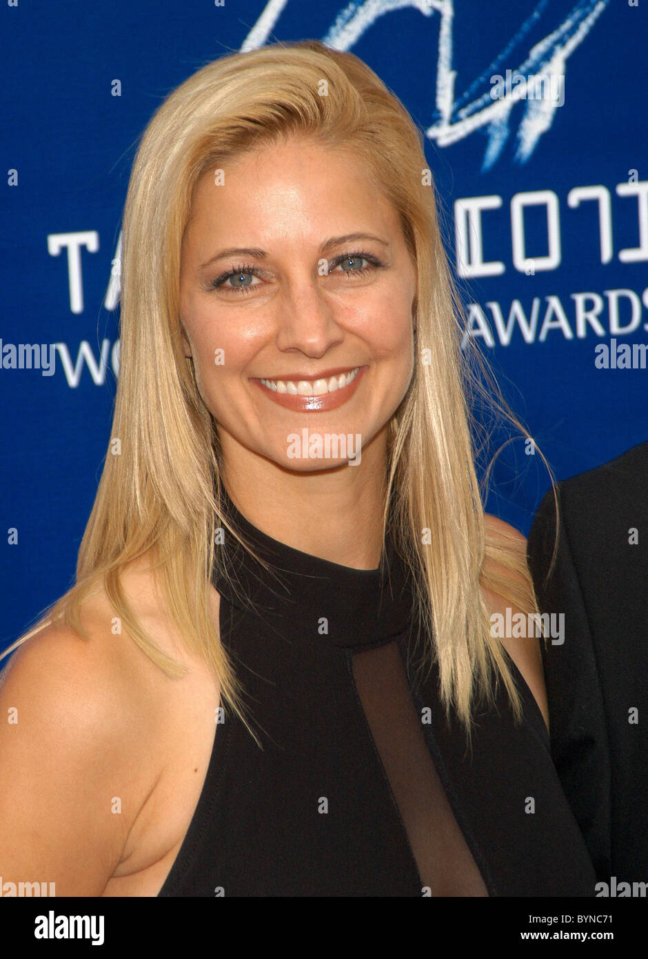 Karin Justman 2007 Taurus World Stunt Awards held at Paramount Pictures Studios - Arrivals Los Angeles, California Stock Photo