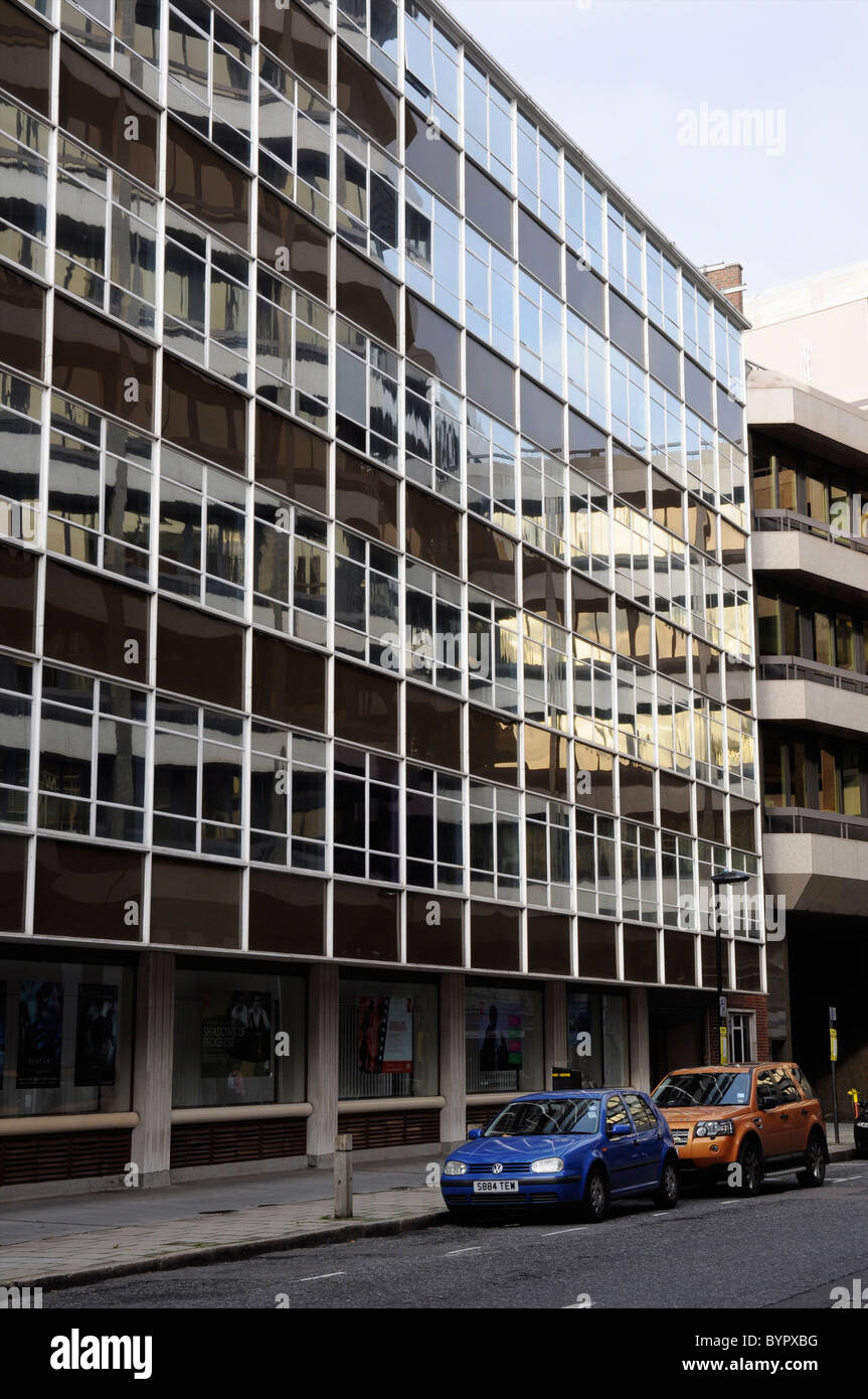 British Film Institute, (Office and BFI National Library), 21 Stephen Street, London, England, UK - Stock Image