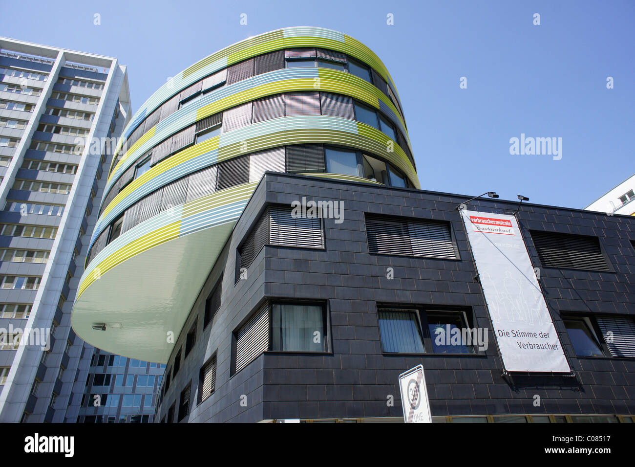 Office of the Federation of Consumer Advice Centers, Berlin, Germany, Europe - Stock Image