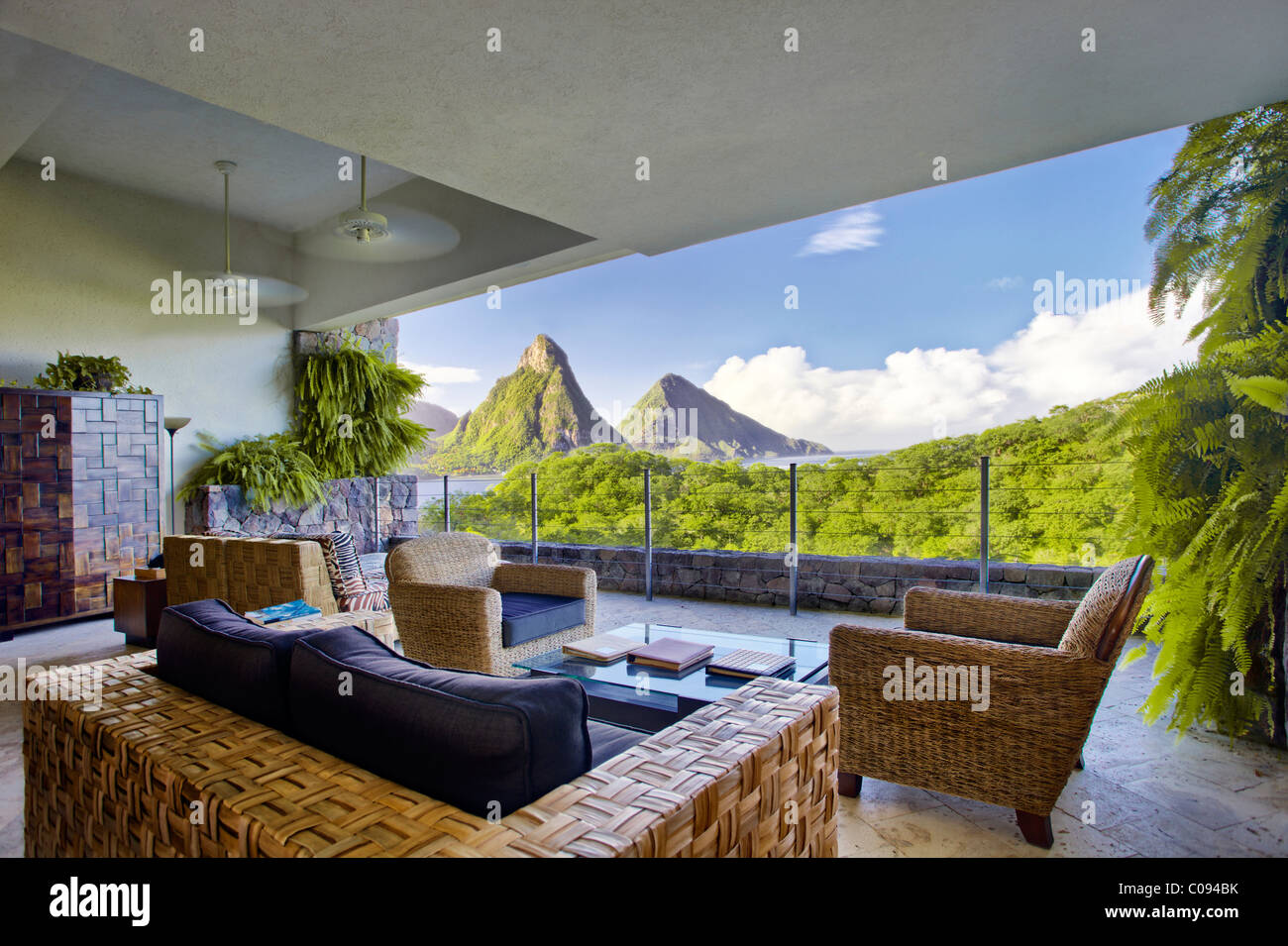Suite Living Room Suite No External Wall Pitons