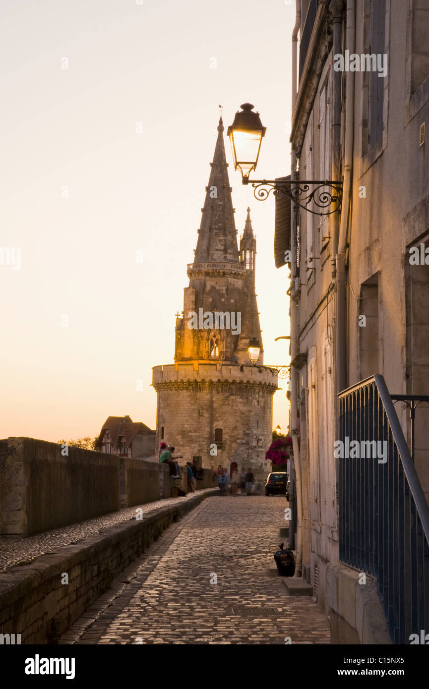 Church, La Rochelle, Charente-Maritime, France - Stock Image