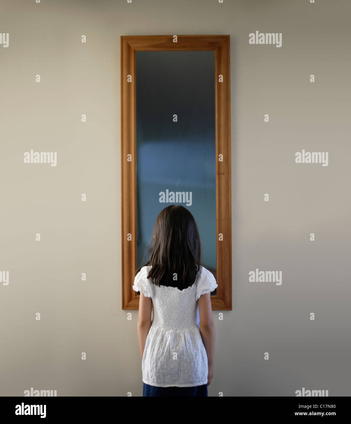 Mirror mirror, on the wall - Stock Image