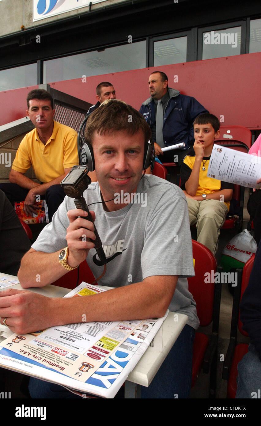Steve Froggatt football pundit - Stock Image
