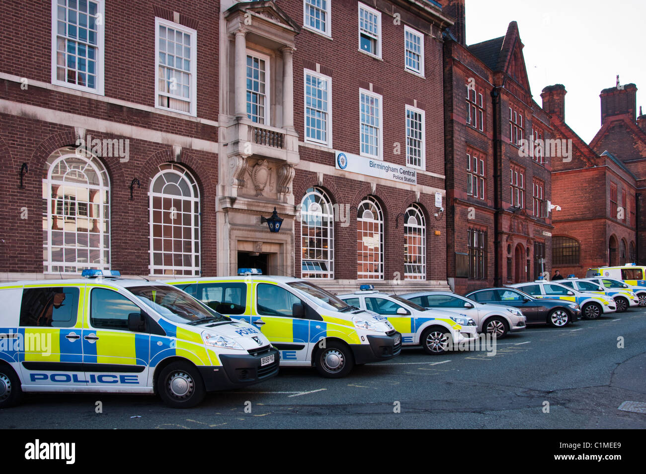 Birmingham Police station. West Midlands. England. Stock Photo