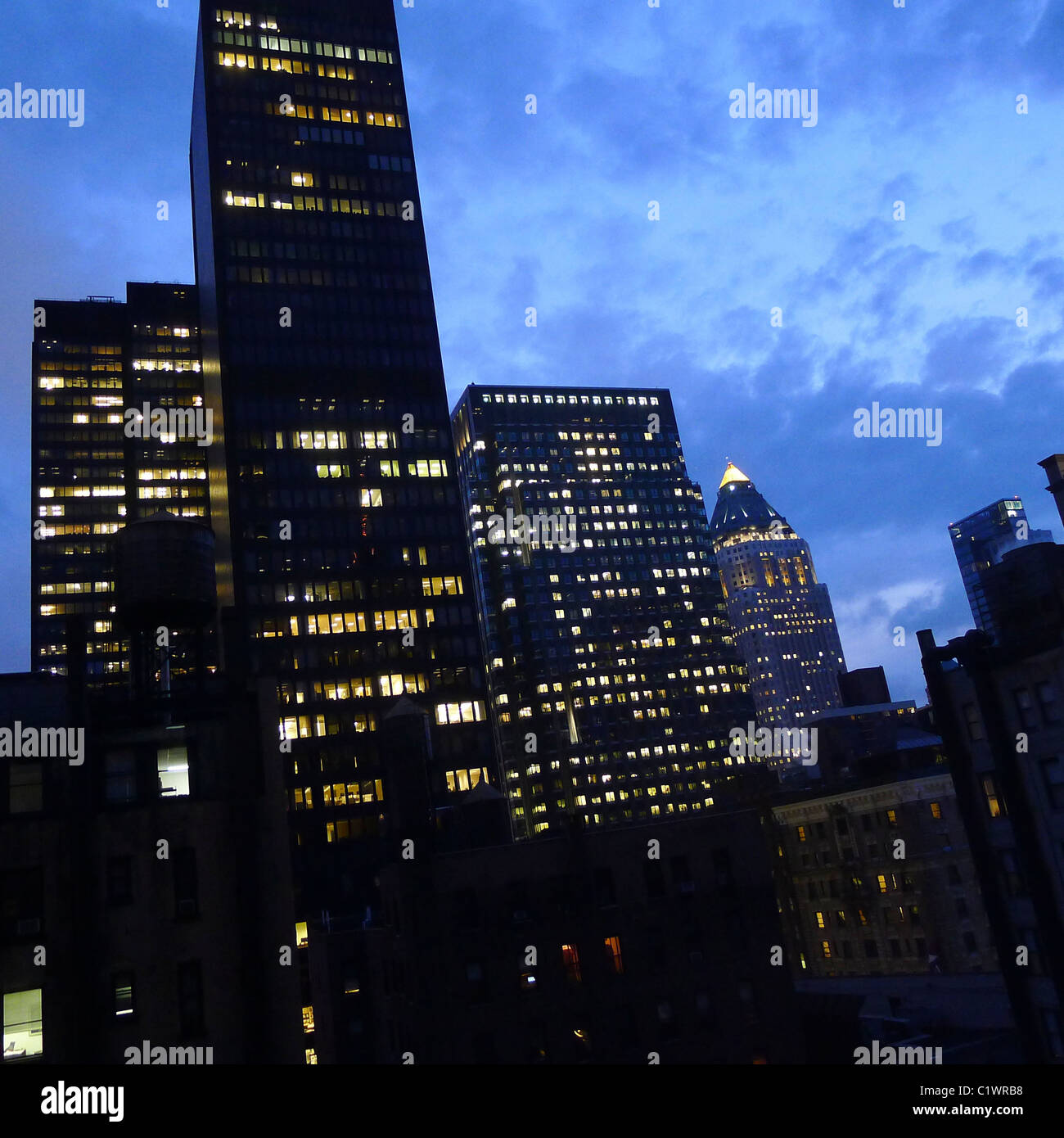 American Cities, New York City Architecture, USA. - Stock Image
