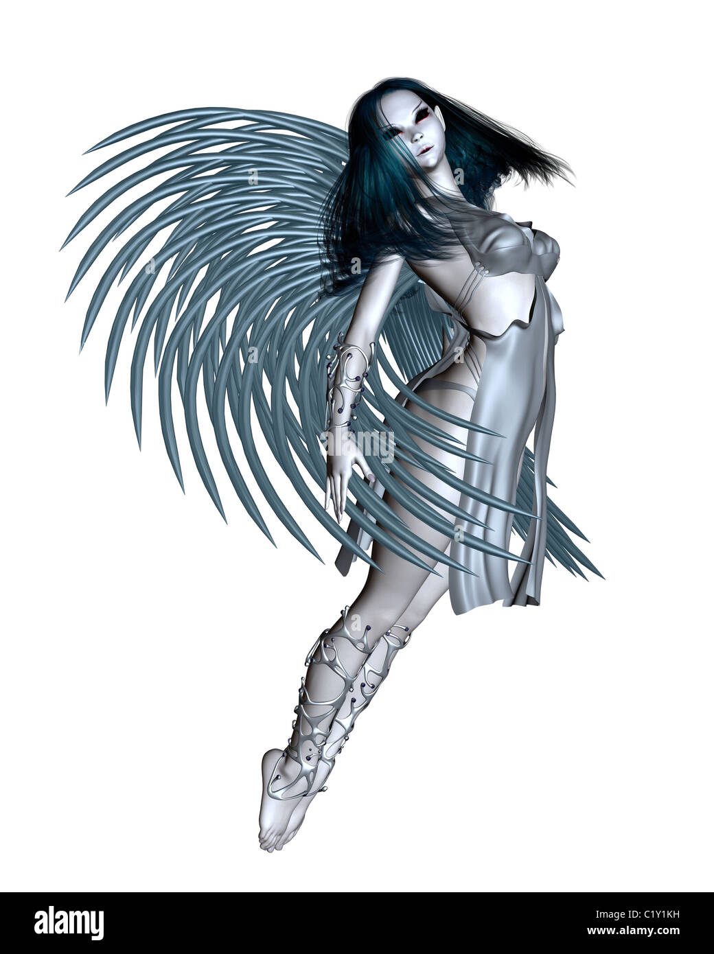 Alien Angel - 1 - Stock Image