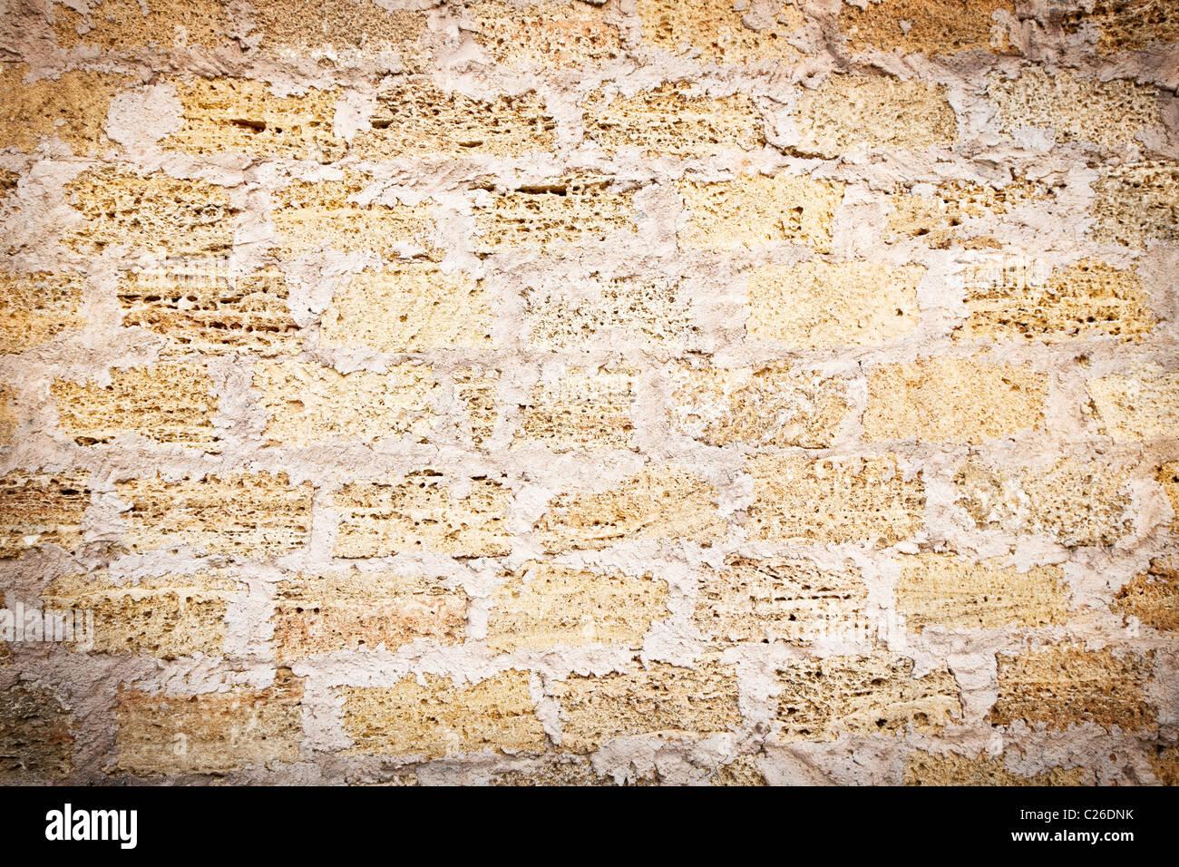 Old brick wall - Stock Image