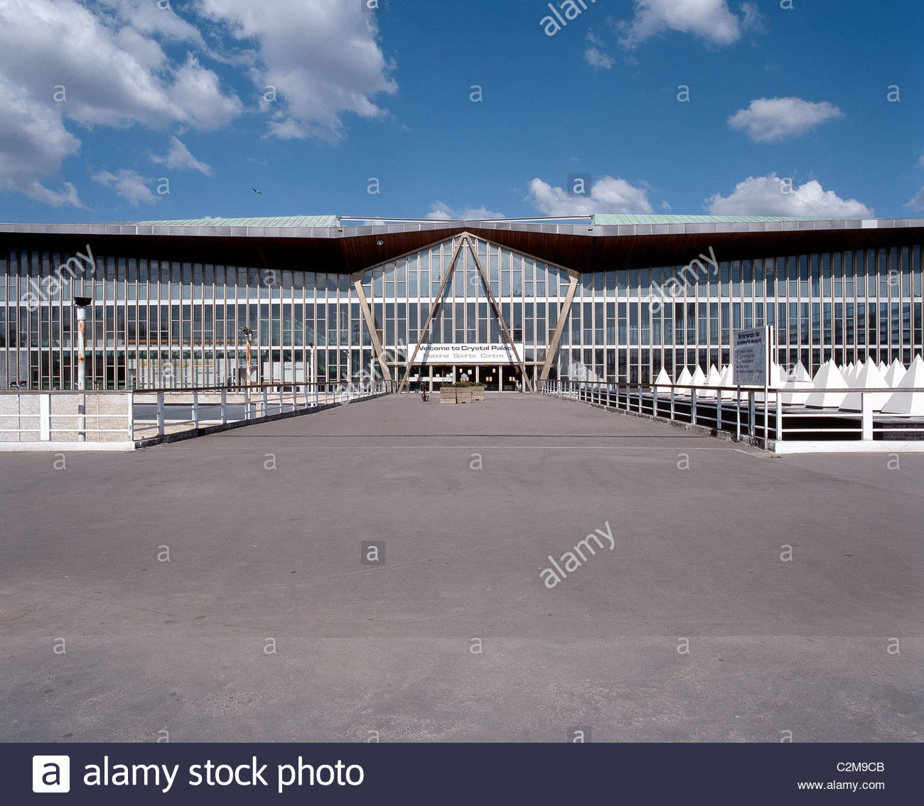 Crystal Palace National Sports Centre, London NSC   Stock Image
